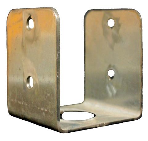 "(PE-44V) Small Penetrator ""U"" bracket for securing 4x4 lumber vertically"
