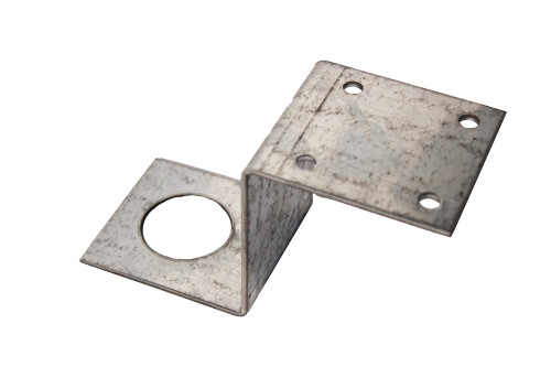 (PE-Z44) Penetrator Z bracket for securing 4x4 lumber