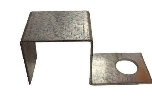 (PE-44H) Wrap around bracket for 4x4 horizontal lumber