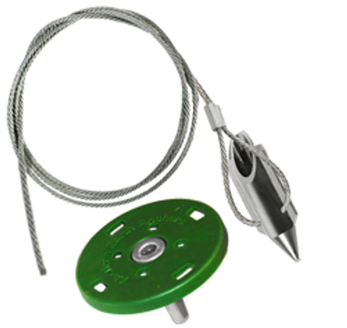 (3AL-36QV-Disk) 3-inch bullet with 36-inch cable and turf disk