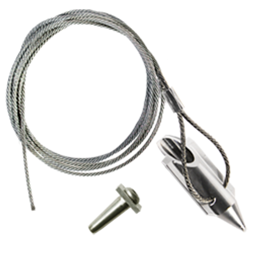 (3AL-120QV) 3-inch bullet with 120-inch cable and Quickvise