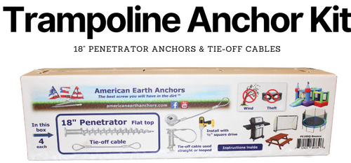 Trampoline Anchor Kit