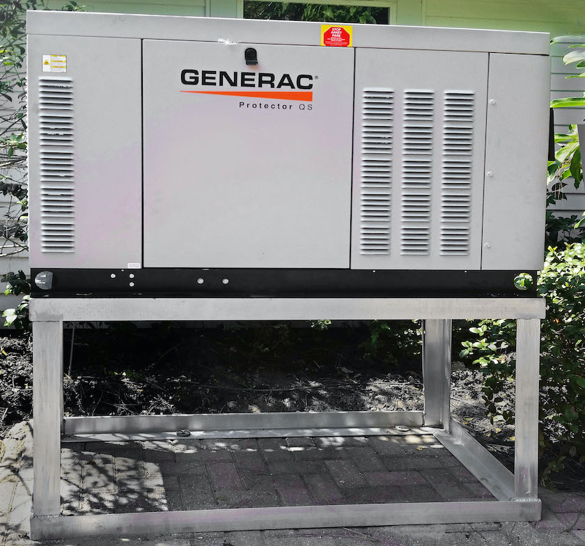 Generator unit anchoring system