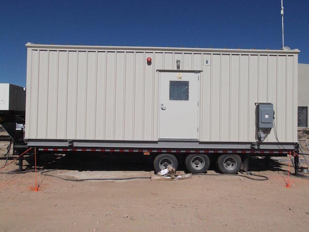 Anchor construction trailer with Penetrators
