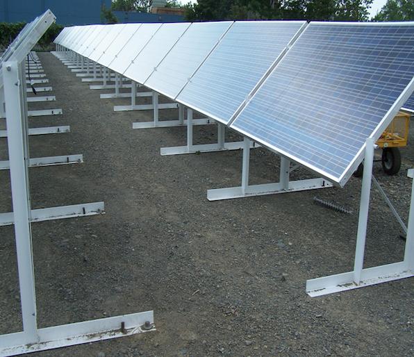 Solar ground mount installation system