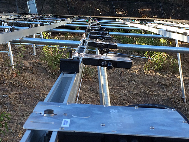 Racking for solar ground mount system