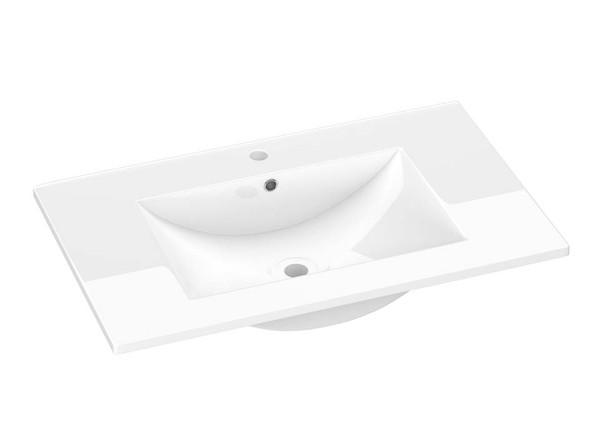 Vitreous china vanity basin 750 mm