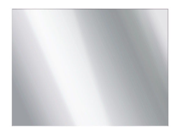 Flat Panel Mirror 900 x 1200 Polished Edge Mirror - 11883
