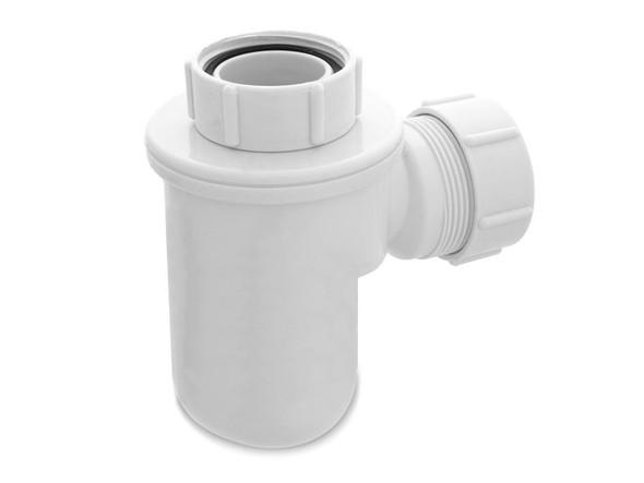 Micro Trap 40mm Nut Waste Plumbing (White) - 11916