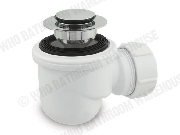 Micro Trap With pop up waste Waste Plumbing (White) - 11917