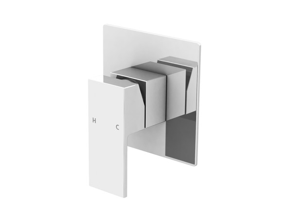 European design wall mixer - Highest quality ceramic disk operation - Single lever mixer controls both water temperature and flow - Manufactured from high quality solid brass with a highly polished chrome finish. Includes two flexible inlet hoses and mounting brackets.
