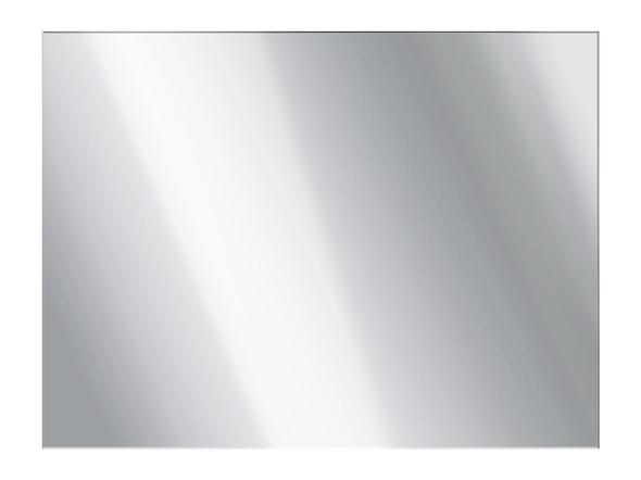 Flat Panel Mirror 600 x 750 Polished Edge Mirror - 12299