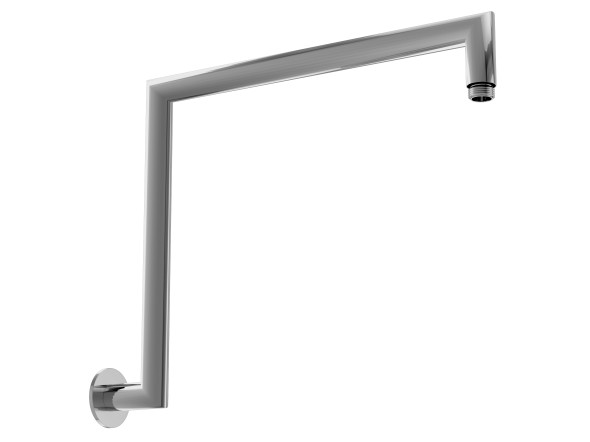Manufactured from high quality solid brass with a highly polished chrome finish.