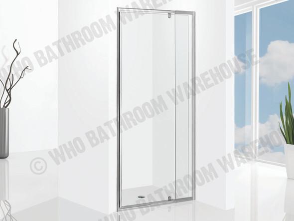 Project 850-1050 Pivot DOOR Framed Shower Screen (Polished Chrome) - 12496