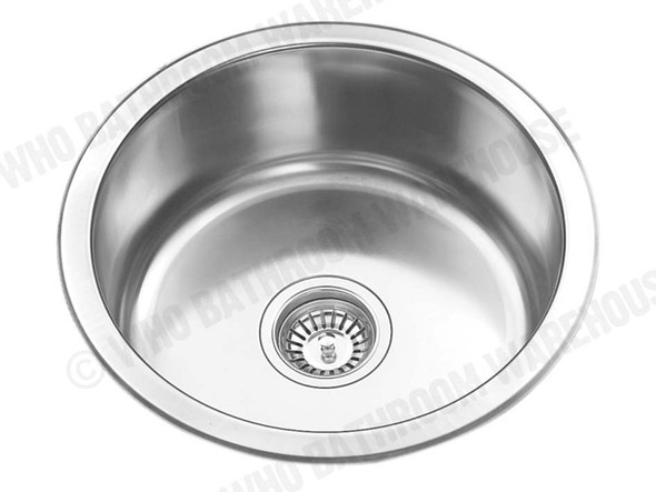 Suffolk 430 Kitchen Sink/Trough (Polished Stainless) - 12542