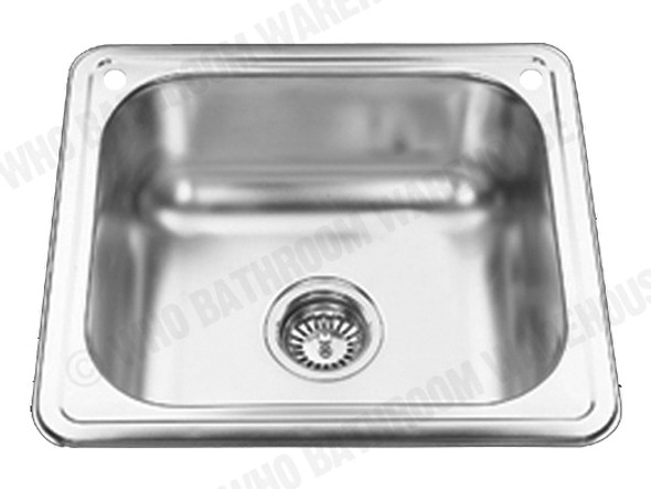 Chelsea 490 Laundry Sink/Trough (Polished Stainless) - 12546