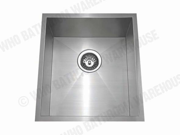 Somerset 380 Kitchen Sink/Trough (Brushed Stainless) - 12560