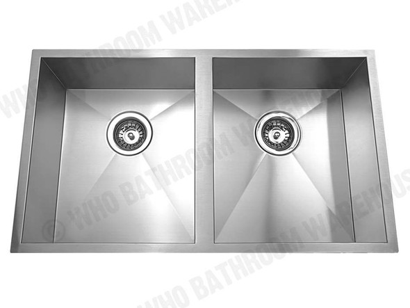 Somerset 760D Kitchen Sink/Trough (Brushed Stainless) - 12563