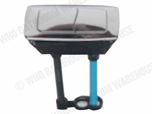 WDI Cistern Button Spare Parts Toilet (White) - 12615