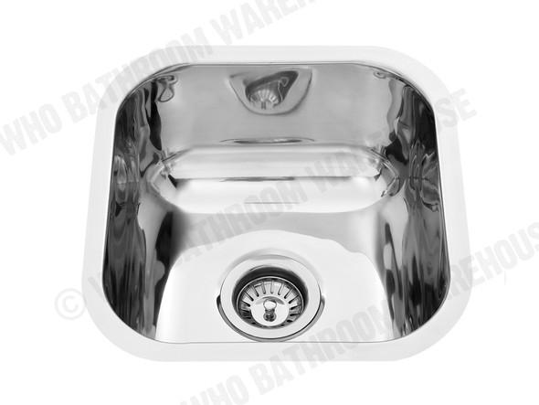 Norfolk 395 Kitchen Sink/Trough (Polished Stainless) - 12624