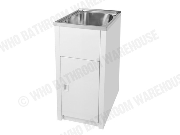 Project 30SS Laundry Sink/Trough (White) - 12643