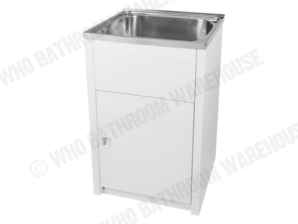 Project 45SS Laundry Sink/Trough (White) - 12644