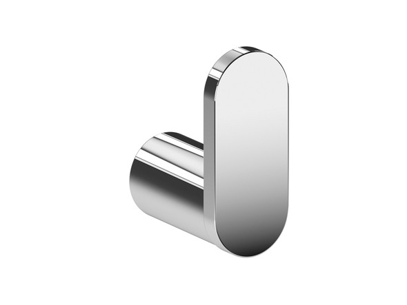 Stainless steel bathroom accessory polished to a brilliant mirror finish