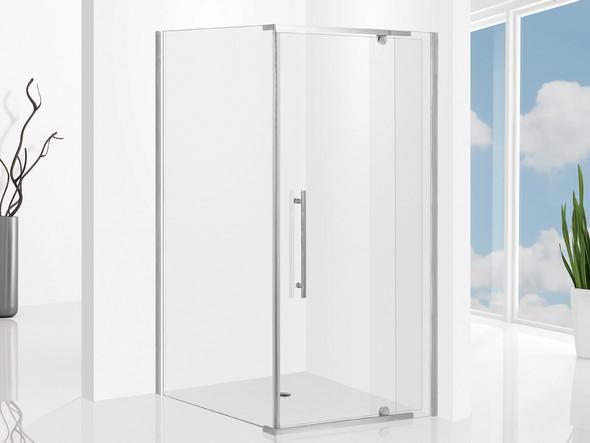 Elly 900 Door & 1000 Wall Screen SET Semi Frameless Shower Screen - 12878