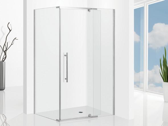 Elly 1000 Door & 900 Wall Screen SET Semi Frameless Shower Screen - 12879