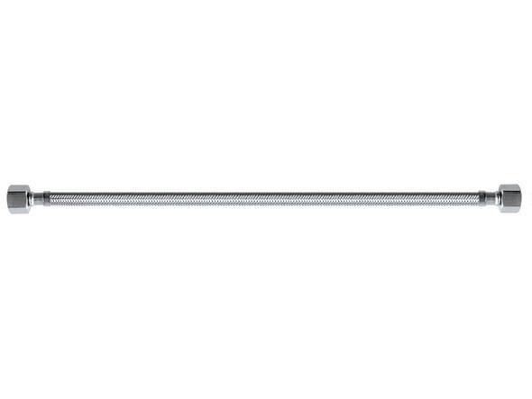 Braided Hose 450mm Femle Braided Miscellaneous Plumbing (Polished Chrome) - 12067