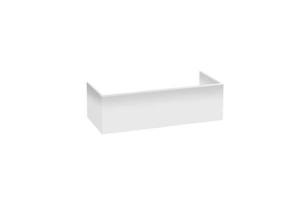 PVC Kick 900 x 250 Kicks Vanity (White Gloss) - 12371