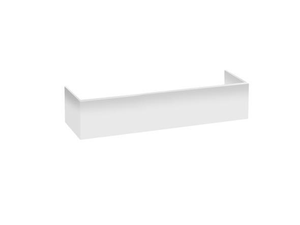 PVC Kick 1200 x 250 Kicks Vanity (White Gloss) - 12372