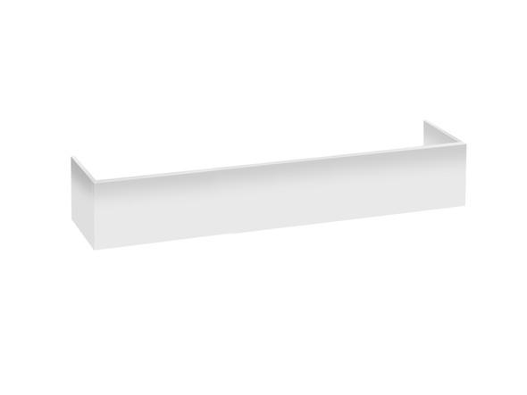 PVC Kick 1500 x 250 Kicks Vanity (White Gloss) - 12373