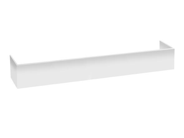 PVC Kick 1800 x 250 Kicks Vanity (White Gloss) - 12374