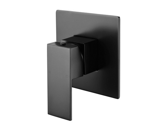 European design wall mixer - Highest quality ceramic disk operation - Single lever mixer controls both water temperature and flow - Manufactured from high quality solid brass with a Matt Black finish.