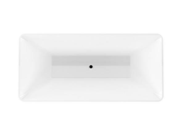 Parkdale XI 1700mm Free Standing Bath (White) - 13357
