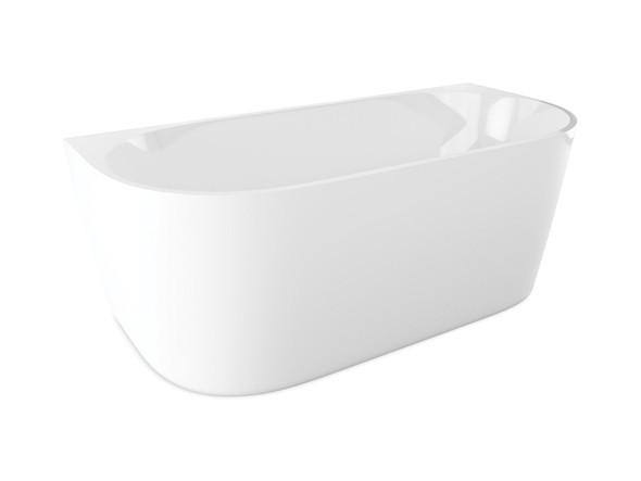 Malvern XI BTW 1550mm Free Standing Bath (White) - 13363
