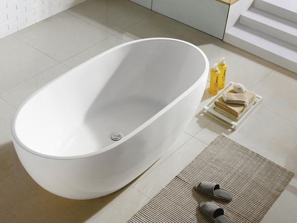 Yarra XI 1700mm Free Standing Bath (White) - 13375