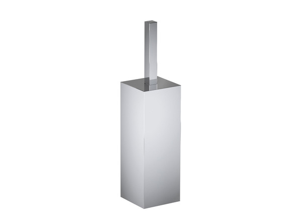 Damian DLX Toilet Brush Bathroom Accessory (Polished Stainless) - 13403