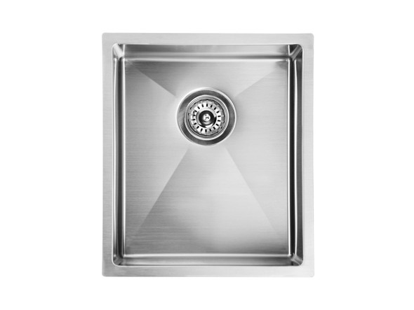 Mayfair 340 Kitchen Sink/Trough (Linished Stainless) - 13647