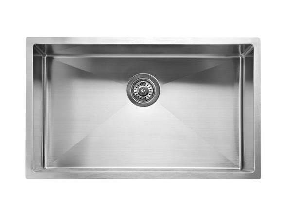 Mayfair 720 Kitchen Sink/Trough (Linished Stainless) - 13649