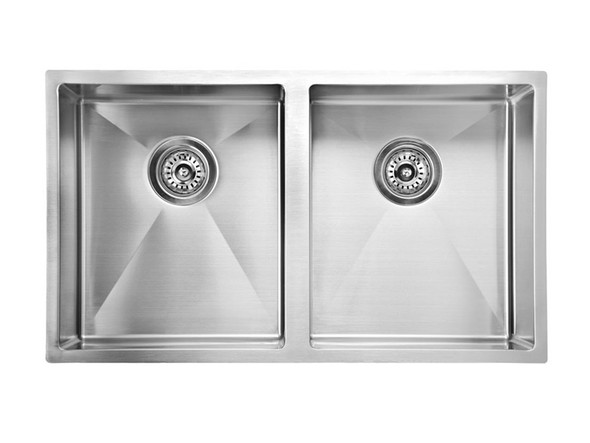 Mayfair 720D Kitchen Sink/Trough (Linished Stainless) - 13650
