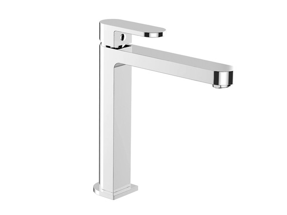Ecco Tall Basin Mixer Tap (Chrome) - 13230