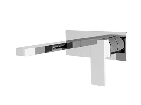 Celia Combo Wall Basin Mixer Tap (Chrome) - 13548