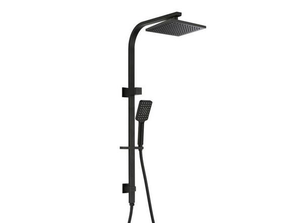 Damian II Combination Shower Rail Set Tap (Black) - 13678