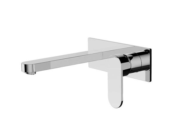 Ecco Combo Wall Basin Mixer Tap (Chrome) - 13232