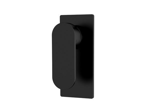 Ecco  Wall Mixer Tap (Matt Black) - 13239