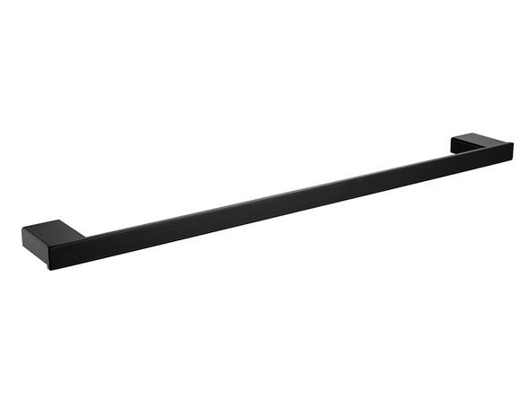 Celia 800mm Single Towel Rail Accessory (Black) - 13499