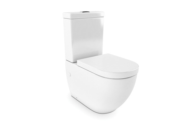 Tregear CE S or P Trap Wall Faced Toilet (White Gloss) - 13860