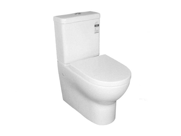 Mercury CE S or P Trap Wall Faced Toilet (White Gloss) - 13865